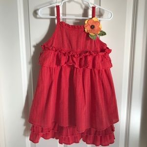 Gymboree Red Girl Sun Dress - size 4T